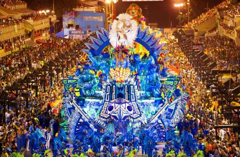 Бразильский карнавал в Рио-де-Жанейро 2015 (свежие фото и видео)