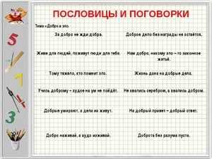 Русские народные поговорки