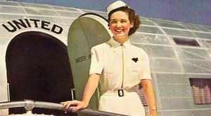 Первые стюардессы в Америке
