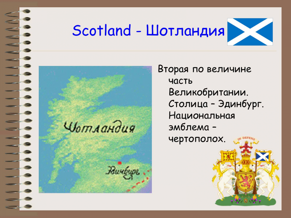 британские острова на карте