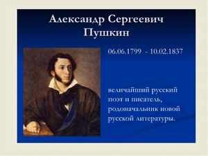 Где родился и где умер Пушкин