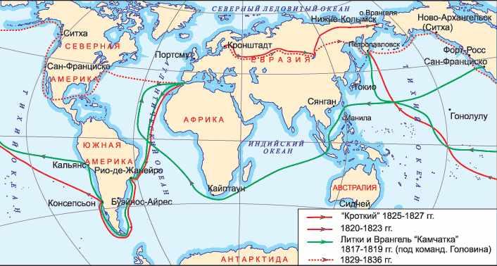 мореплаватели и их открытия