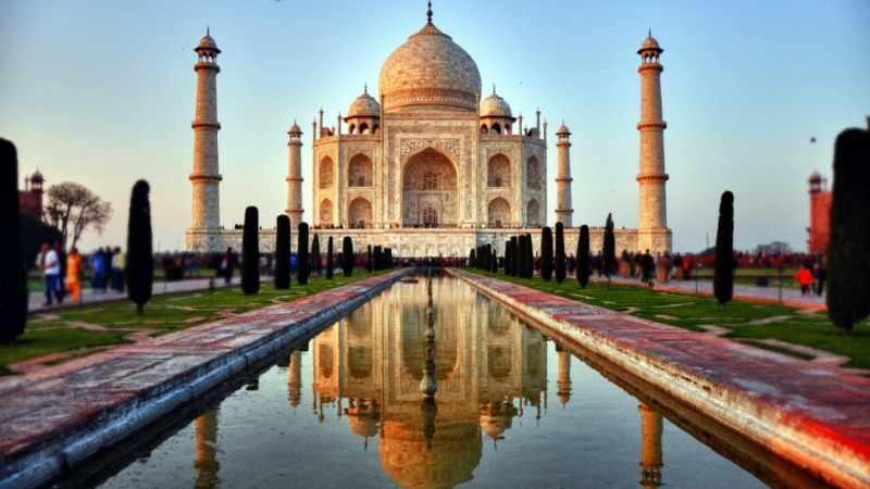 Индия: Тадж-Махал | GoTravel: готовый сайт туроператора ...