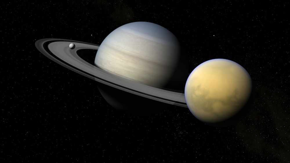 Титан - Спутник Сатурна, Масса и Размеры, Карта и Фото Поверхности ...