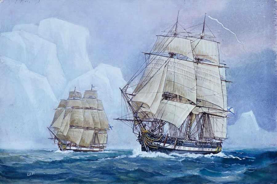 русская антарктида