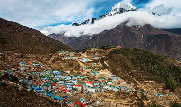 Непал. Национальный парк Сагарматха. Путь через три перевала ...