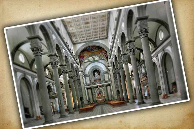 Церковь, которая стала последним пристанищем Донателло