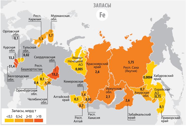 Страны лидеры по добыче железной руды в мире