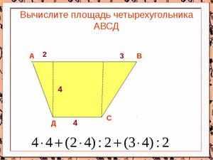 Измерение площадей