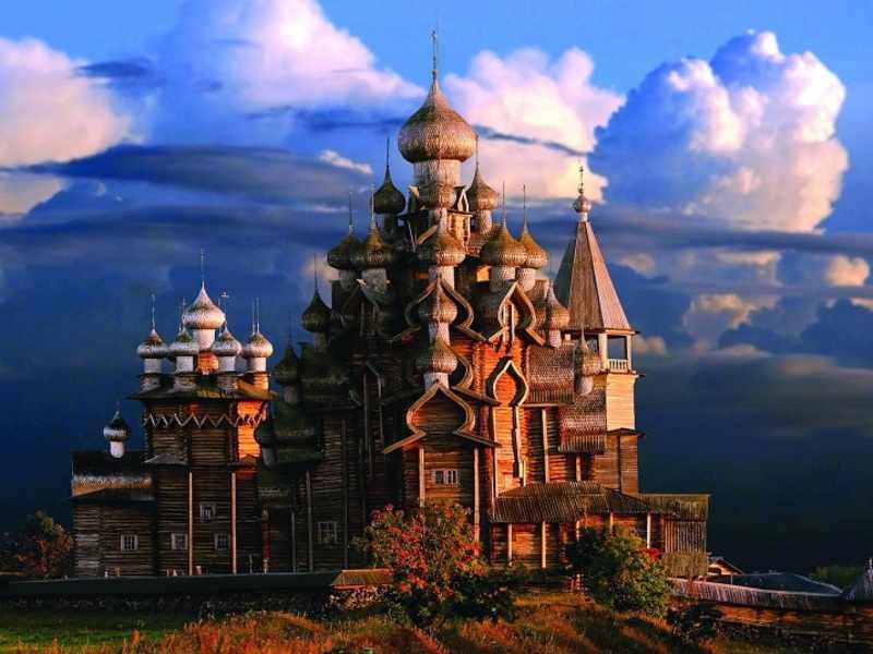 Кижи Российское чудо света