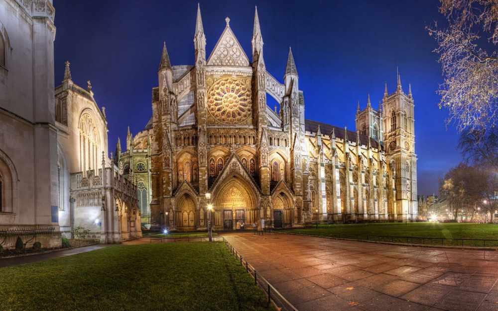 Фото и описание Вестминстерского Аббатства в Лондоне в Великобритании