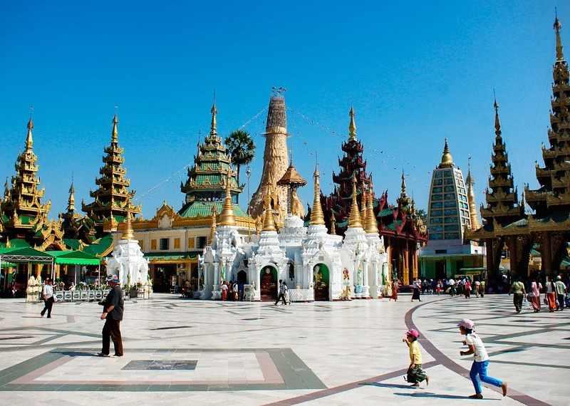 Пагода Шведагон - главная достопримечательность Янгона