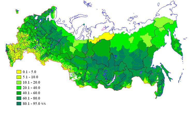 Леса и лесные ресурсы России :: Самое главное - сказку не спугнуть ...