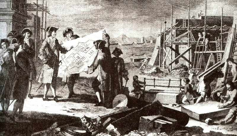 основание санкт петербурга