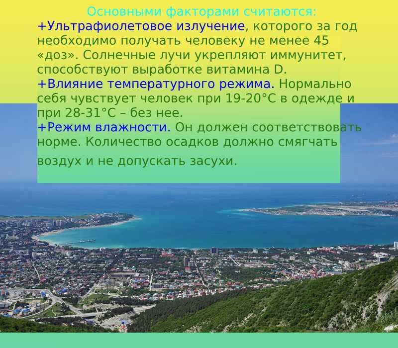 климат и человек