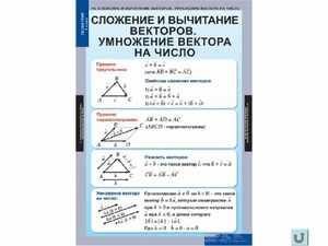 Алгебраический, геометрический и физический смысл математических действий