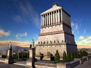 Мавзолей в Галикарнасе как чудо света