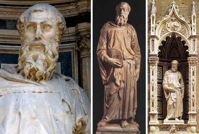 Статуя Евангелиста Марка
