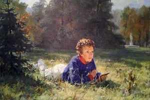 Пушкин - гимназист, юные годы поета