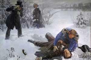 Дуэль Пушкина - трагический конец жизни