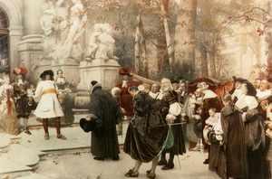 События истории гугенотов