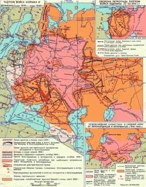 Этап и итог Гражданской войны