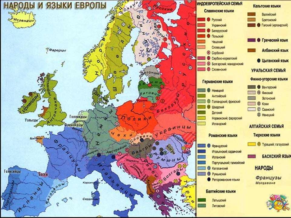 зарубежная европа характеристика (главный ключ)