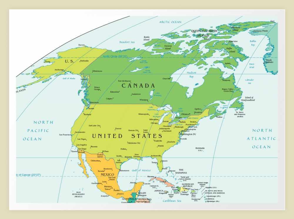 Путешествие по Северной Америке