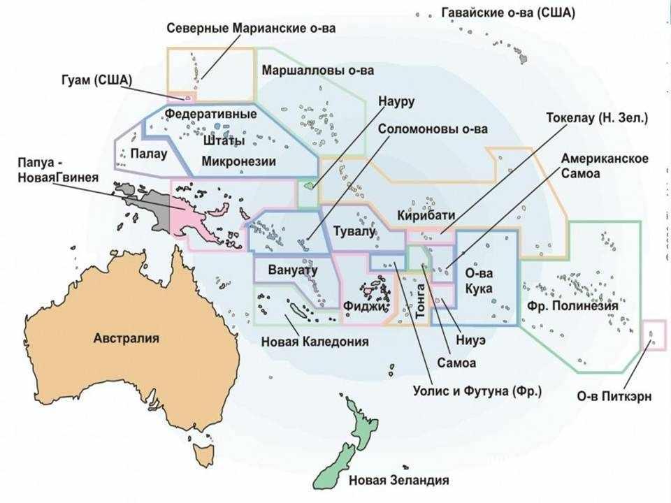 карта географическая