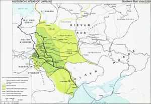 Где географически находилось Галицко-Волынское княжество
