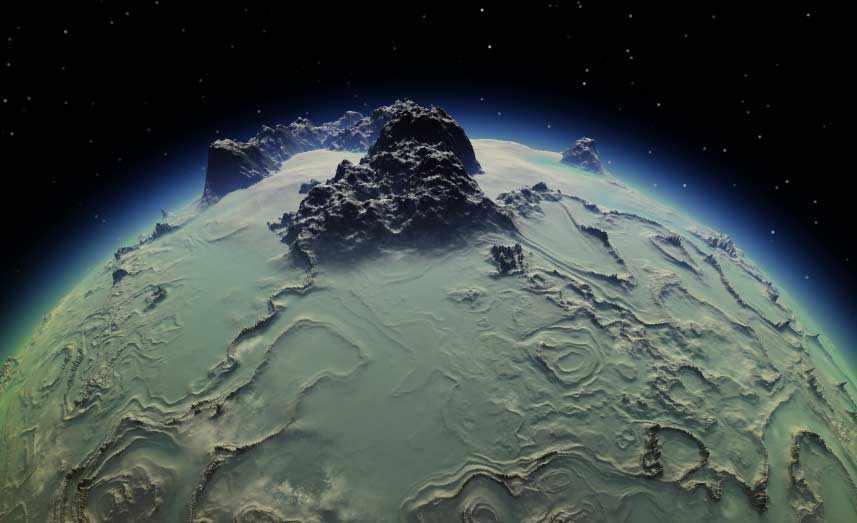 Загадочные спутники планет солнечной системы: Ганимед, Миранда ...