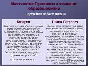 Кирсанов и Базаров