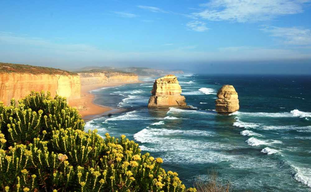 картинки : пейзаж, море, берег, природа, камень, горизонт, Солнечный ...