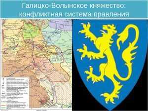 Галицко-Волынское княжество - войны и конфликты
