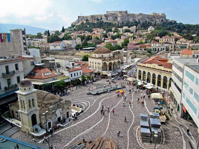Где позавтракать в Афинах