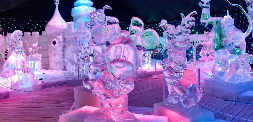 Ледяной фестиваль Ice Fantasy
