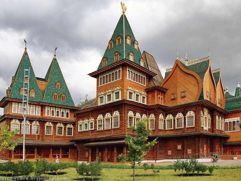 Коломенский дворец в России