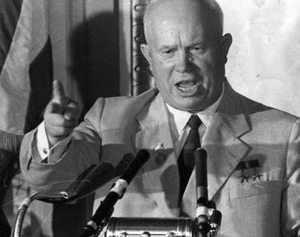 Когда правил Хрущев