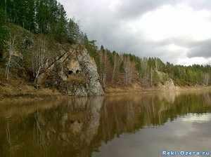 Природа на реке Волге