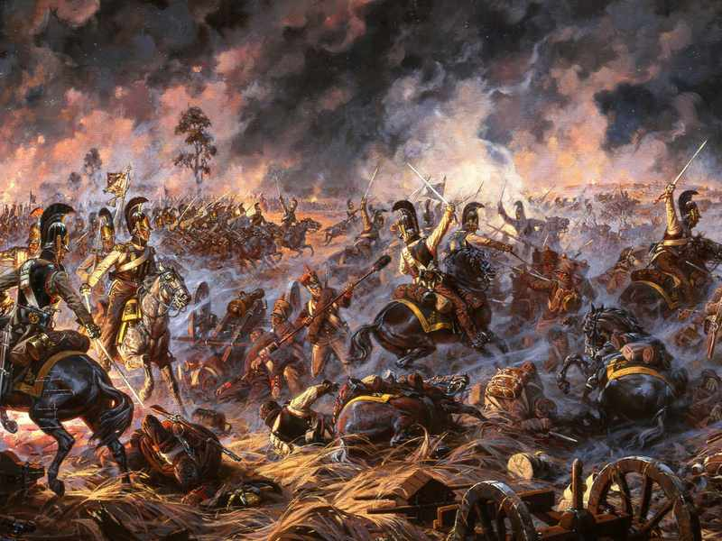 Картина сражения