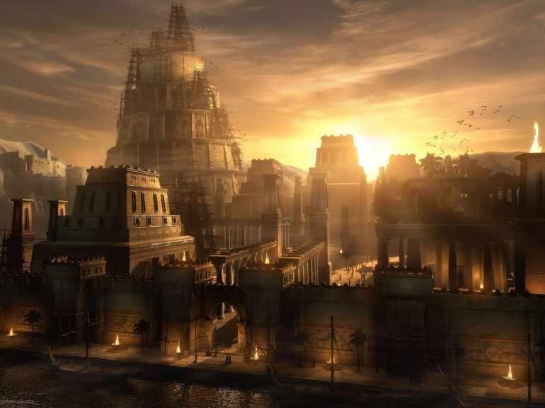 Знаменитая Вавилонская башня