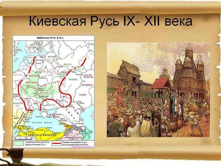 Киевская Русь в 9-12 веках