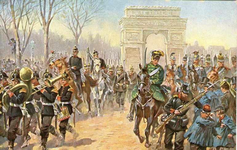Франко прусская война 1870 1871 кратко