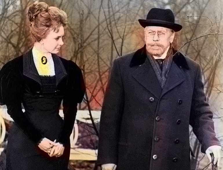Екатерина Ивановна встретилась со Старцевым