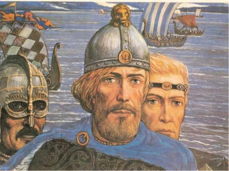 Политика внешняя и внутренняя первых русских князей