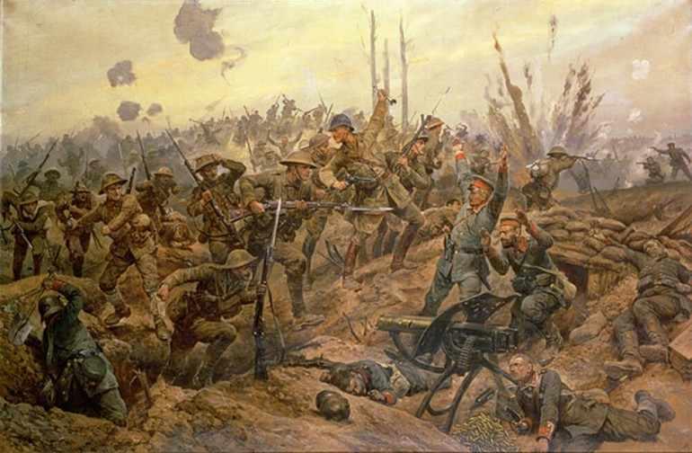 Сражения первой мировой