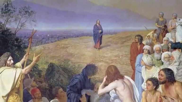Явление христа народу описание картины