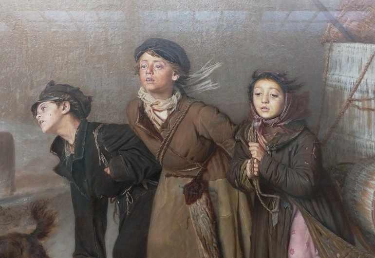 Сочинение по картине перова тройка