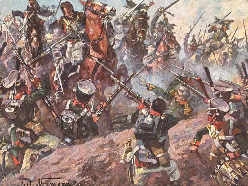 Как сражались за Бородино