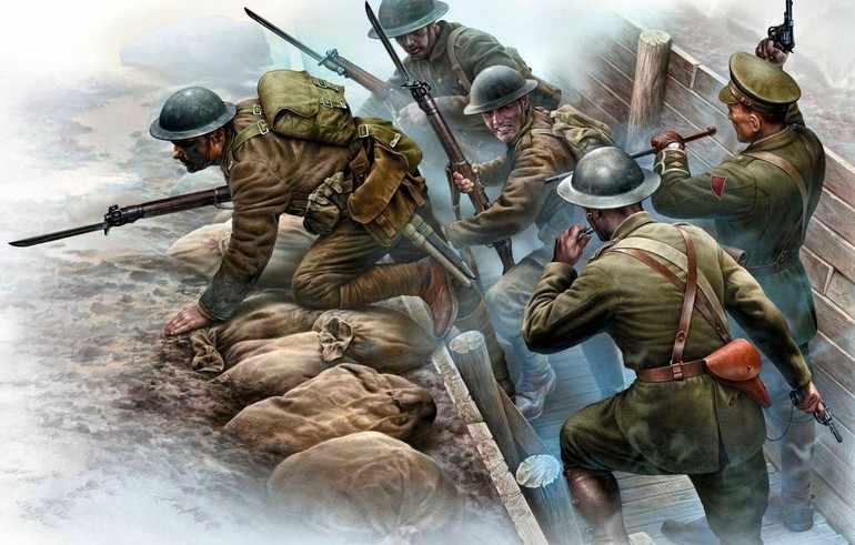 Западный фронт 1 мировой войны